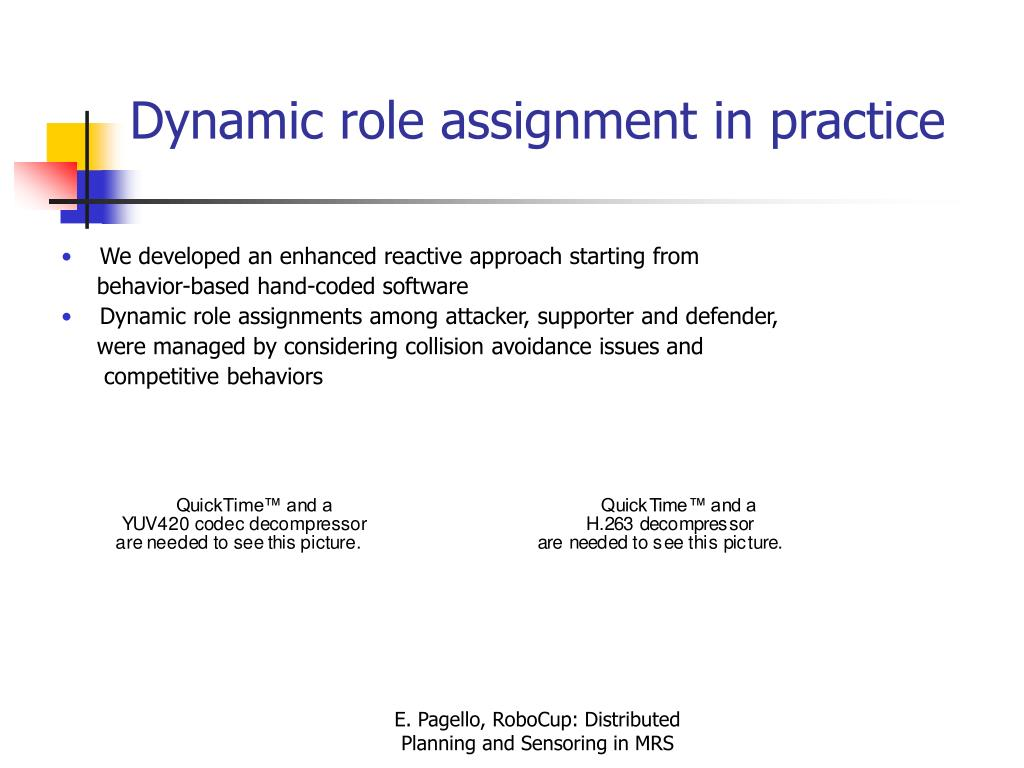 Dynamic role assignment in practice
