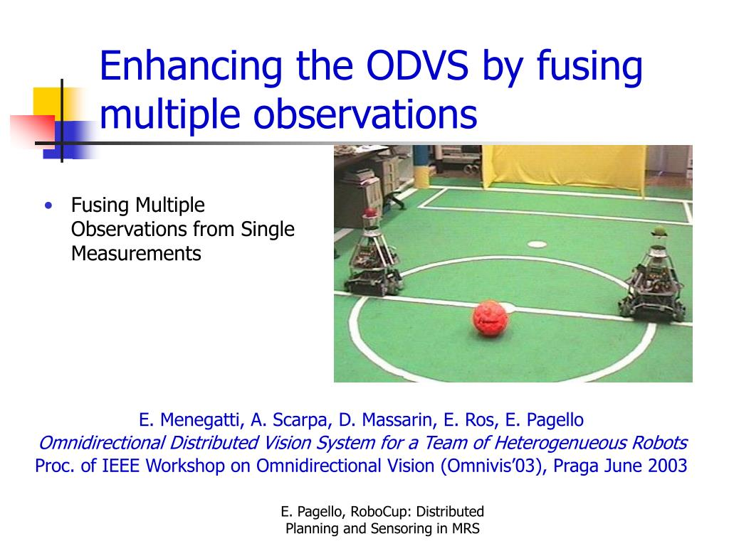 Enhancing the ODVS by fusing multiple observations