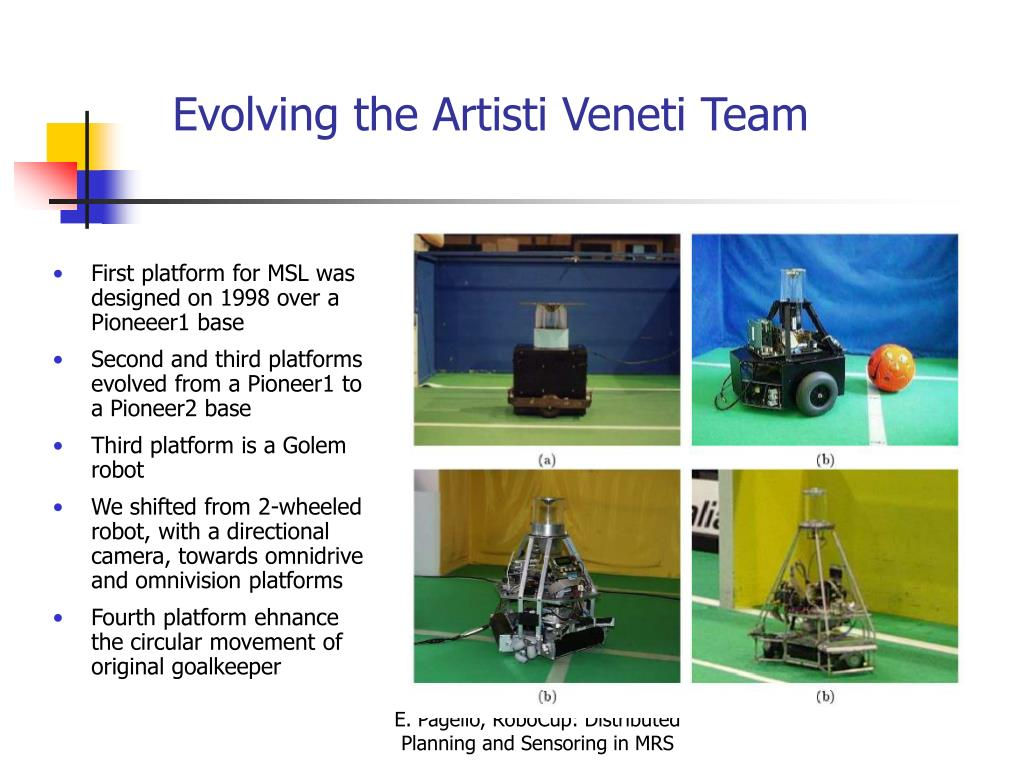 Evolving the Artisti Veneti Team
