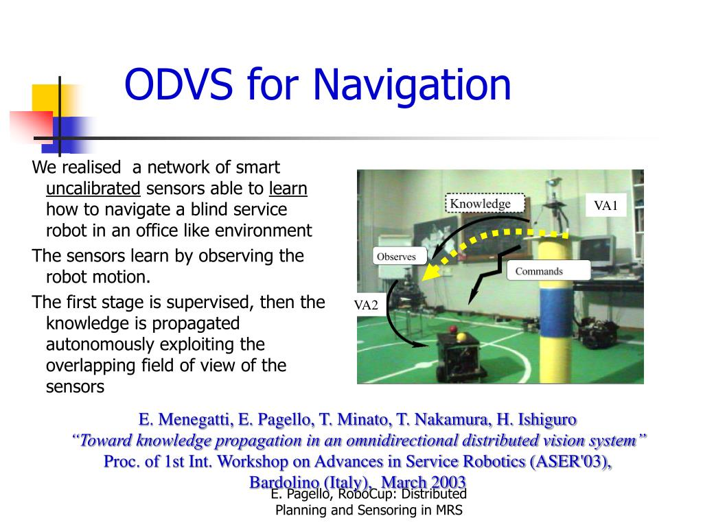 ODVS for Navigation