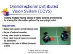 omnidirectional distributed vision system odvs