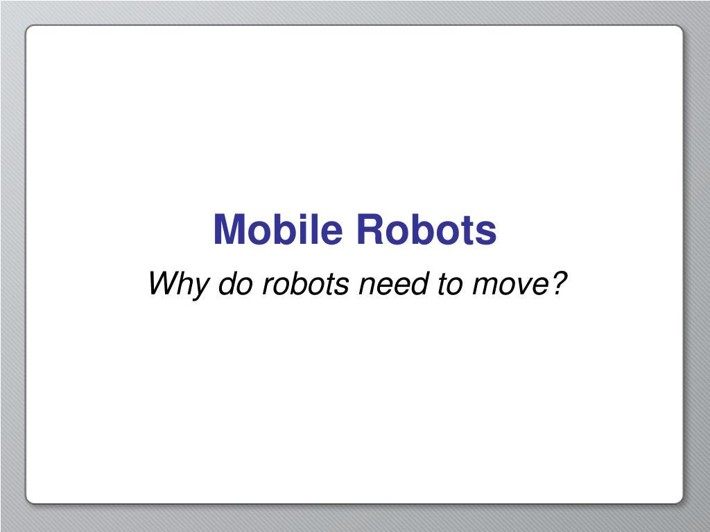mobile robots l.