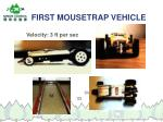 first mousetrap vehicle