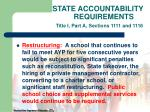 state accountability requirements title i part a sections 1111 and 111623