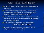 what is the vsepr theory