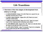 life transitions11