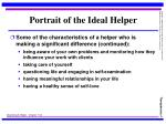 portrait of the ideal helper4