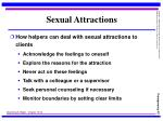 sexual attractions