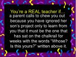 you re a real teacher if34