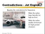 contradictions jet engine34