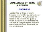 challenges of being a leader10