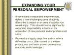 expanding your personal empowerment20