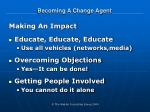 becoming a change agent16