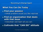 becoming a change agent18