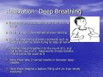 relaxation deep breathing