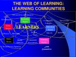 the web of learning learning communities