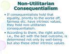 non utilitarian consequentialism