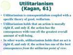 utilitarianism kagan 61