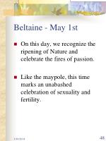 beltaine may 1st