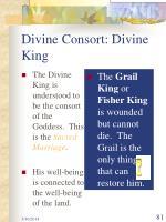 divine consort divine king