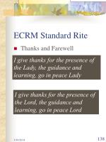 ecrm standard rite138