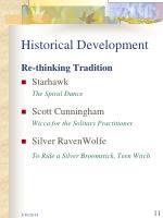 historical development11