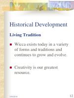historical development12