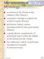 interpretations of mythology
