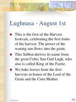 lughnasa august 1st
