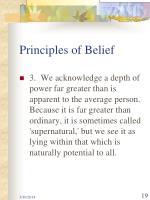 principles of belief19