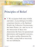 principles of belief21