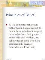 principles of belief22