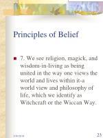principles of belief23