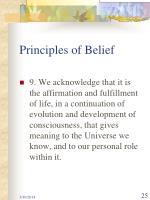 principles of belief25