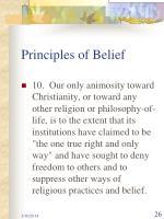 principles of belief26