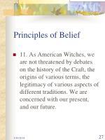 principles of belief27