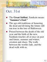 samhain halloween oct 31st