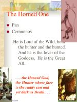 the horned one