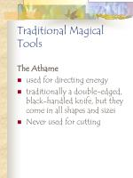 traditional magical tools