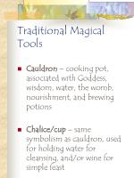 traditional magical tools115