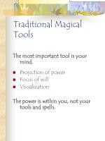 traditional magical tools118