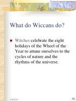 what do wiccans do36
