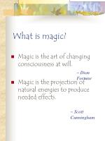 what is magic