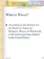 what is wicca6