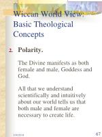 wiccan world view basic theological concepts67