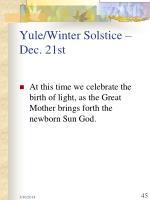 yule winter solstice dec 21st