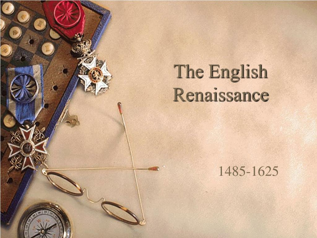 the english renaissance l.