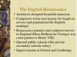 the english renaissance35