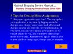 5 tips for getting more assignments15