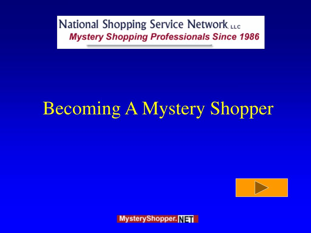 becoming a mystery shopper l.